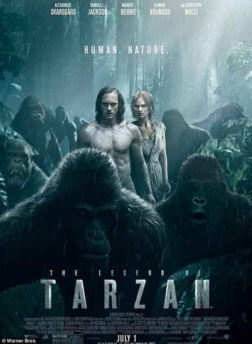 دانلود فیلم The Legend Of Tarzan 2016 با کیفیت Bluray 720P