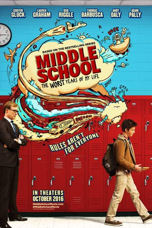 دانلود فیلم Middle School: The Worst Years of My Life 2016