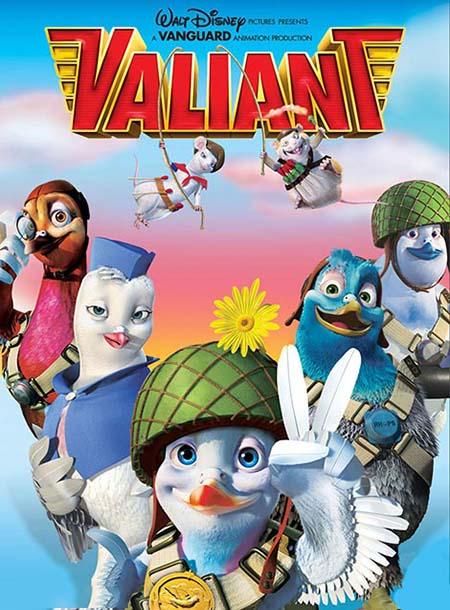 دانلود انیمیشن Valiant 2005