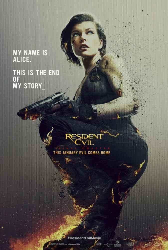 دانلود فیلم Resident Evil: The Final Chapter 2016