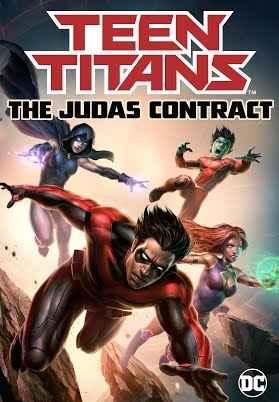دانلود انیمیشن Titans The Judas Contract 2017
