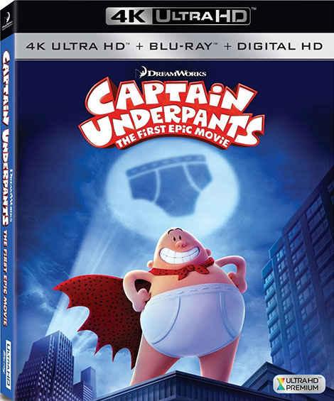 دانلود انیمیشن Captain Underpants 2017