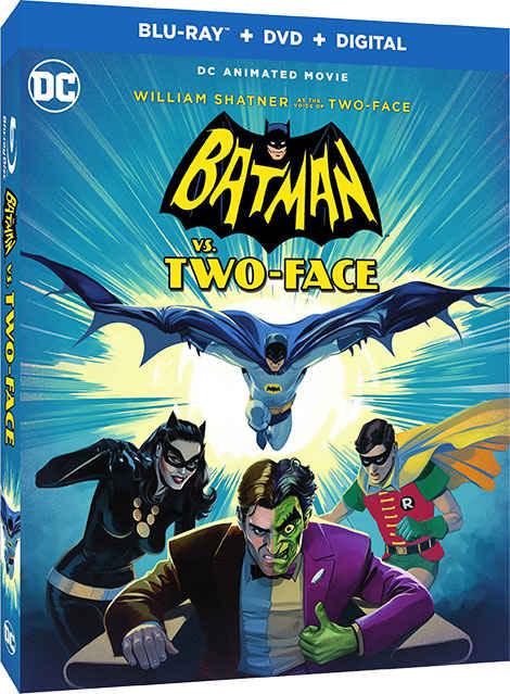 دانلود انیمیشن Batman VS Two-Face 2017