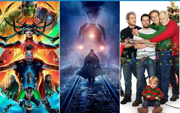 صدرنشینی دوباره فیلم Thor: Ragnarokدر باکس افیس 12 نوامبر 2017