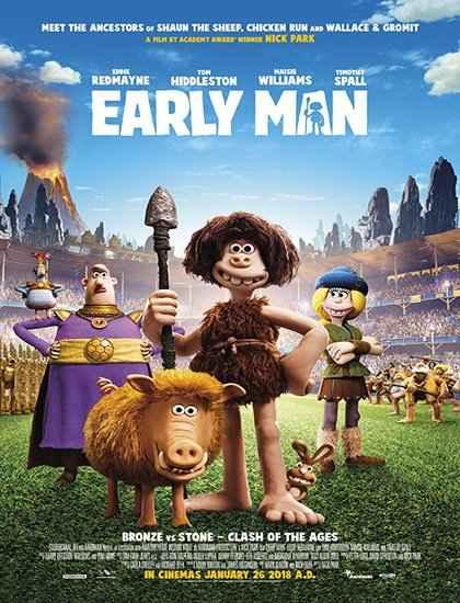 دانلود انیمشن Early Man 2018