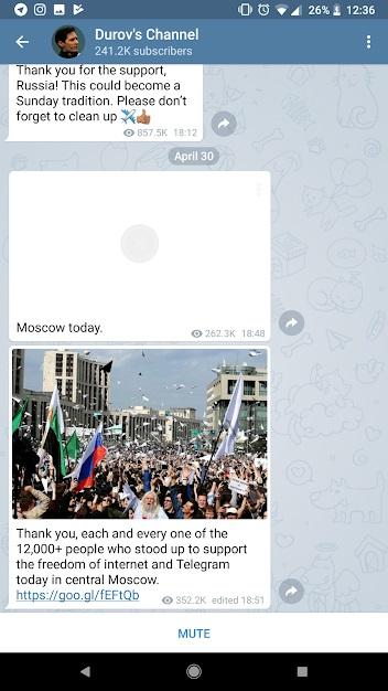 دانلود نسخه اندروید Telegram DR