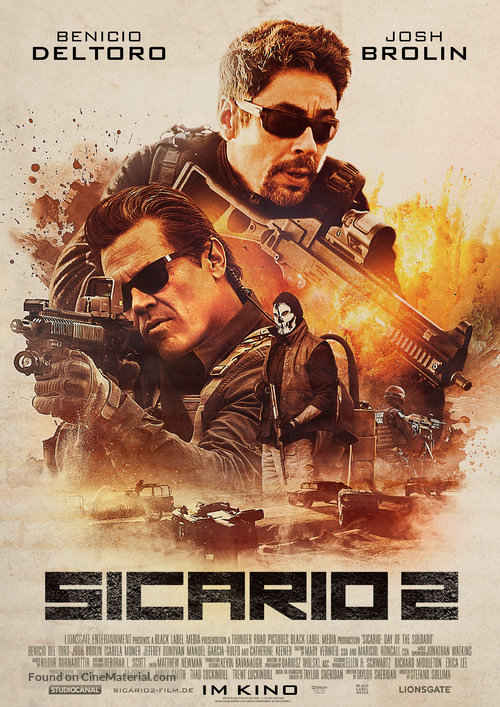 دانلود فیلم Sicario 2 2018